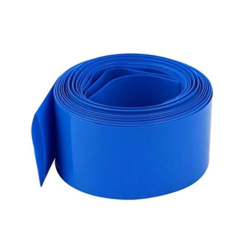 TONGXU 1 Rollo 150±1MM Ancho PVC Tubo Termoretráctil Encogimiento de Calor Tubo 3M para Baterías Paquete de Baterías