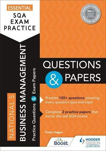 Essential SQA Exam Practice: National 5 Business Management Questions and Papers...