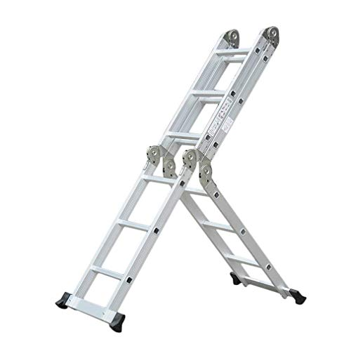 Echelle Multifonction 3m70 6en1 Portable et pliante en aluminium professionnel