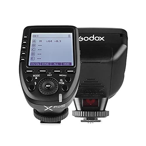 GODOX Xpro-N i-TTL Trasmettitore di trigger flash con ampio schermo LCD Sistema X Wireless X 32 canali 16 canali Supporto TTL Autoflash per fotocamere della serie Nikon per flash della serie Godox