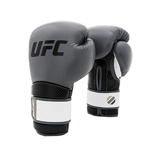 UFC Herren Stand Up Training Glove Boxhandschuhe, Grau, 18 oz