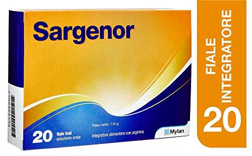 Sargenor Integratore Alimentare Con Arginina, 20 Fiale, 210 gr