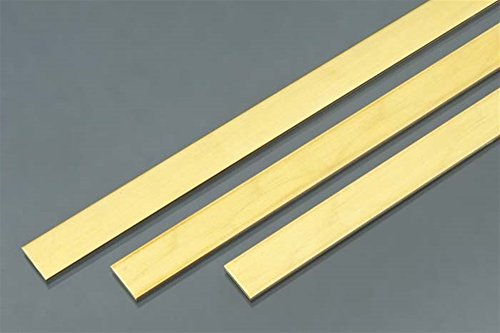 K/&S Percision Metals 16402 Brass Sheet Metal Rack 0.010 Thickness x 6 Width x 12 Length 3 pc Made in USA 30 Gauge