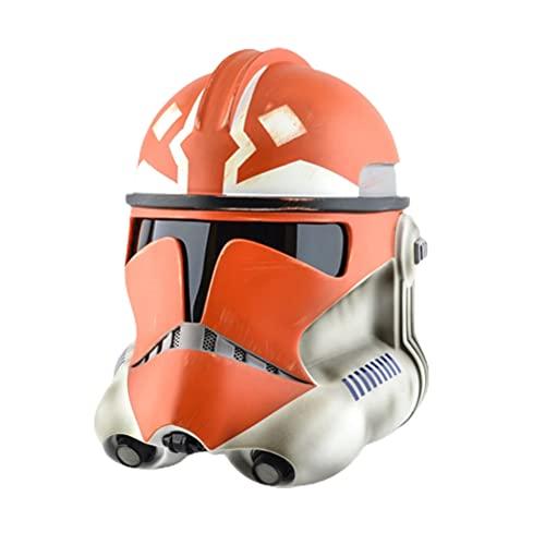BSTCAR Star Wars - Casco mandaloriano, PVC para disfraz de Halloween coleccionable para fiestas y festivales de Navidad