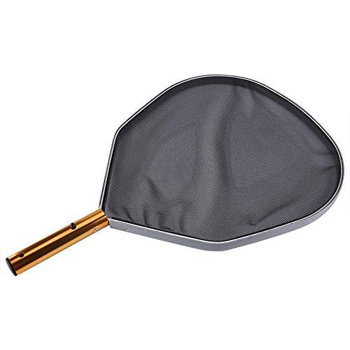 Dwawoo Pool Rake, aluminium frame Leaf Filter Net Rake voor het zwembad Fish Leaf Clean
