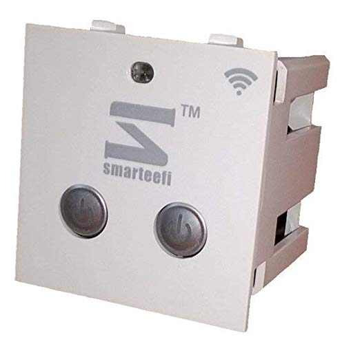 Smarteefi Android WiFi Remote Switch, Smart Switch, 2 in 1 Smart Plug, Home Automation, Timer Switch, Timer Plug, 1 Year Warranty