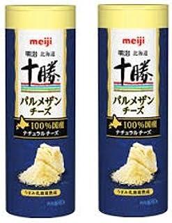 【まとめ買い】明治 北海道十勝パルメザンチーズ 80g × 2個