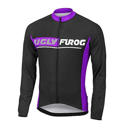 Uglyfrog CXT05 Termico Invernale Uomini Sport all'Aria Aperta Usura Manica Lunga Magliette Ciclismo Maglia Bicicletta Bici Abbigliamento Bici Triathlon Wear
