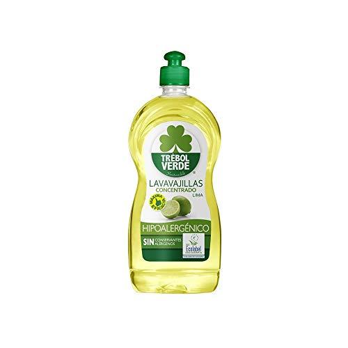 Lavavajillas lima ECO Trébol Verde 750 ml