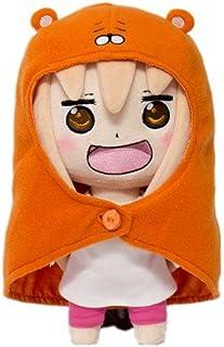 Handmade Anime Himouto! Umaru-chan Umaru Doma Plush Doll Puppet Toy Gift Cute 9.8'' b2