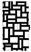 [BASIO4] スマホケース 手帳型 ベイシオ4 ベイシオフォー basio 4 ケース 手帳 おしゃれ basio4 カバー 人気 かわいい 白黒 モノクロ 柄 シンプル 8450-B. モノトーンB スマートフォン 手帳型ケース 京セラ スマホゴ