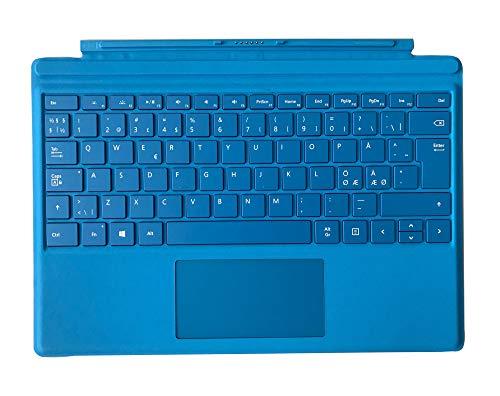 Microsoft Surface Type Cover 4 - Kompatibel Surface Pro, Surface Pro 3, Surface Pro 4, Surface Pro 6 (Tastaturbelegung : QWERTY Nordic)