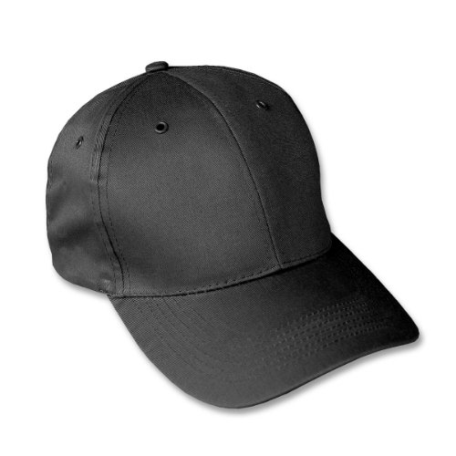 Mil-Tec Casquette militaire type Baseball US Army - Taille réglable - Snapback cap - Coloris Noir - Airsoft - Paintball - Outdoor