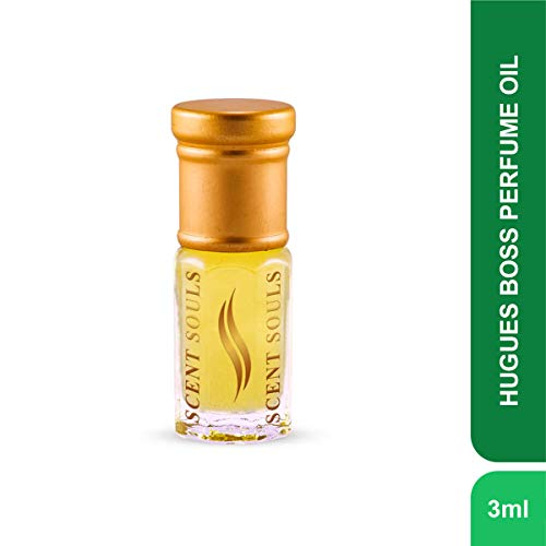 Scent Souls Hugues Boss Long Lasting Attar Fragrance Perfume Oil For Men- 3 ml