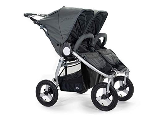Bumbleride Indie Twin All Terrain Stroller 2020 – Eco Friendly Double Stroller with Canopy