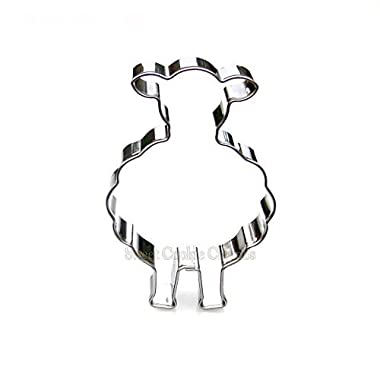 Sheep Cookie Cutter- Stainless Steel