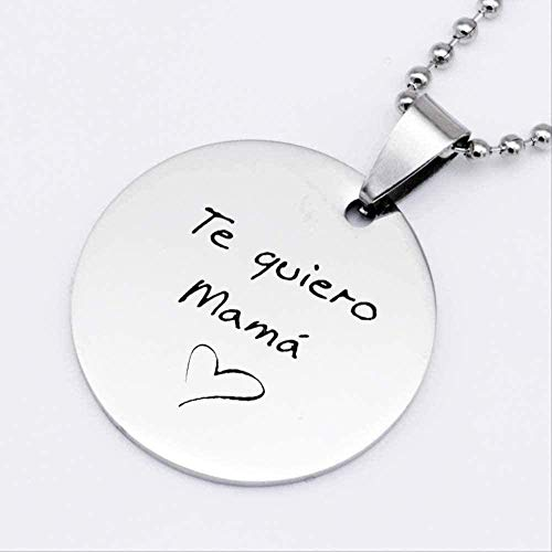 LBBYMX Co.,ltd Necklace I Love You Mom Necklace Chain Necklace Women Necklaces Jewelry Mothers Day