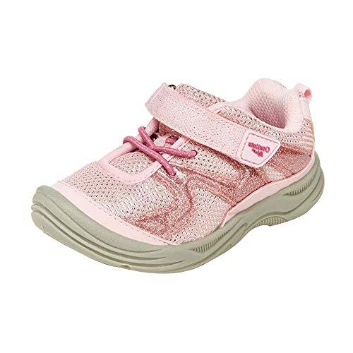 OshKosh B'Gosh Girls Dyana Bump Toe Sneaker, Light Pink, 10 Toddler