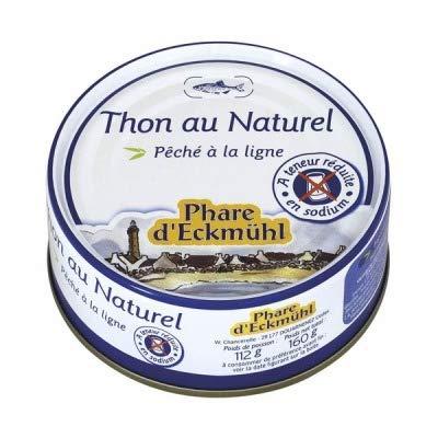 PHARE D'ECKMUHL Thon au Naturel sans sel 112G -