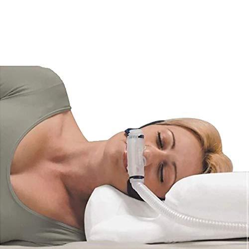 UALLL Apnea del Sueño Almohada – CPAP, Almohada Espuma De Memoria,posición Correcta for Dormir Relaja El Músculo Protege La Columna Vertebral