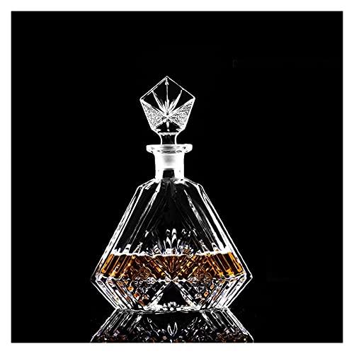 ZSWB Cristal Vino Vino Tazas Rojas Tazas de Vino decantador Whisky liqour Pourer Home Bar Vodka Cerveza Botella Jarra Jarra Jarra 210419 (Color : 22)
