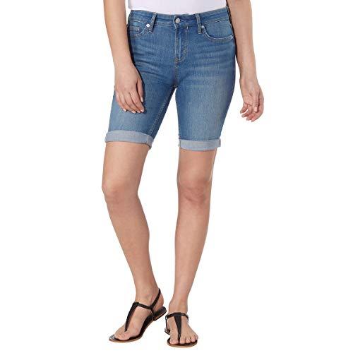 Calvin Klein Ladies' Bermuda Short (Tulip Blue, 4)
