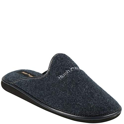 Hush Puppies Mens Homeslippers Boston Felt Navy