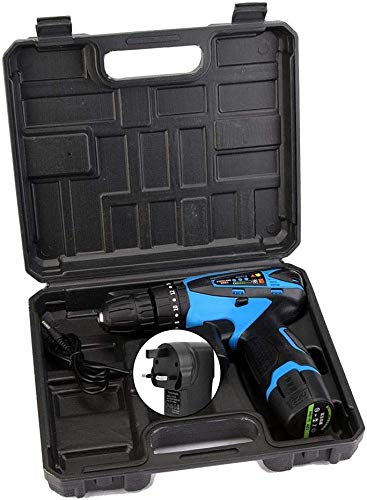 12V Elektrische oplaadbare accu boormachine schroevendraaier Handheld Tool (GB), 12V elektrische oplaadbare accuboormachine schroevendraaier Handheld Tool UK Plug 100-240V zhihao