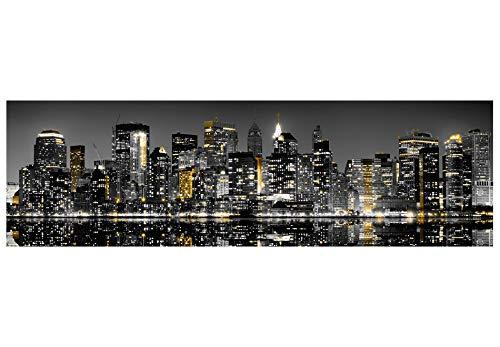 murando Deko Panel XXL 340x100 cm Vlies Tapete Poster Panoramabilder Riesen Wandbilder Dekoration Design Fototapete Wandtapete Wanddeko Wandposter New York 11020904-17