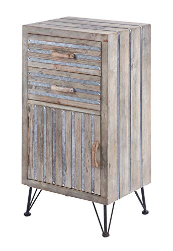 ts-ideen commode ladekast highboard rek industriële used look 90x47 cm