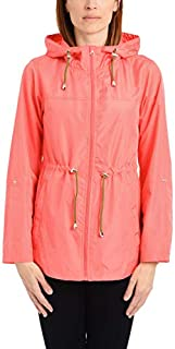 Details Women's Lightweight Pack-it-in-a-Pouch Water-Resistant Jacket