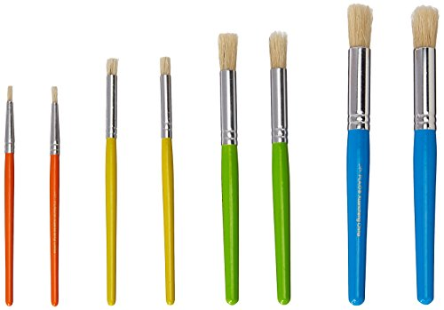 Plaid Stencil Brush Set, (8-Piece), 0289956