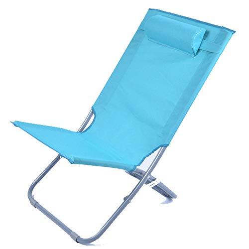 AKSHOME Relax Lounge Chair Silla Plegable Tumbona Tumbona Hogar Pequeño Camping Al...