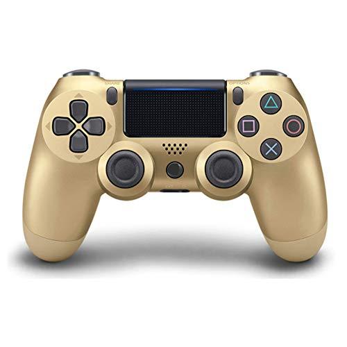 YIQIN Controlador De Juego Inalámbrico, Controlador De Controlador Ps4 Bluetooth 4.0 Doble Cabeza De Cabeza Manipule Mando Mando Game Pad para Jugar Consola 4