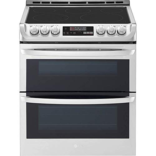 LG LTE4815ST 7.3 Cu. Ft. Stainless Double Oven Electric Range