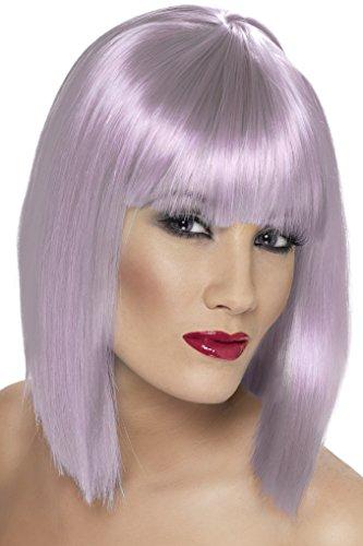 conseguir pelucas lila corta en internet