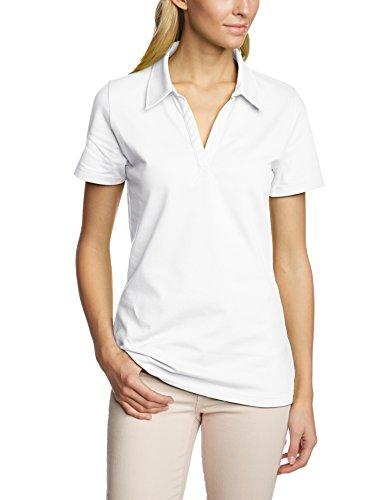 Trigema Damen 521612 Poloshirt, Weiß (Weiß 001), 44