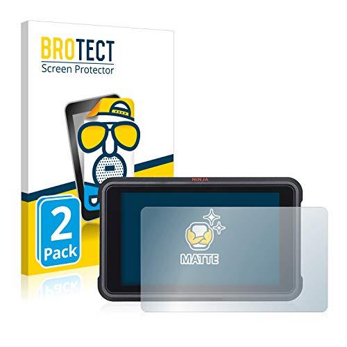 BROTECT 2X Entspiegelungs-Schutzfolie kompatibel mit Atomos Ninja V Displayschutz-Folie Matt, Anti-Reflex, Anti-Fingerprint