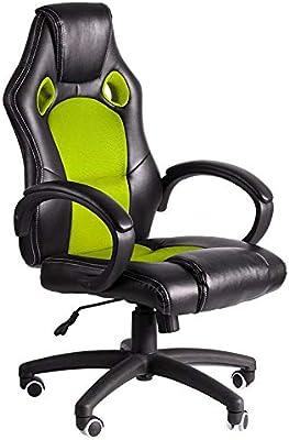 Regalos Miguel - Sillas Gaming - Silla Pro - Verde y Negro - Envío ...