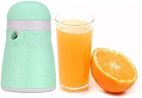 OFKPO Exprimidor Manual Portátil, 2 en 1 sin BPA Manual Exprimidor Fruta Prensa para Limón Naranja Citrus