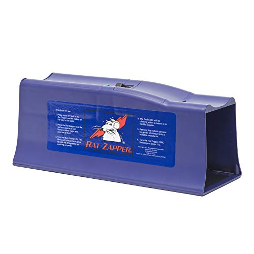 Victor Elektronische Rattenfalle - Rat Zapper Classic - Einfache, Schnelle, Hygienische & Humane Falle zur Mäuse- und Rattenbekämpfung
