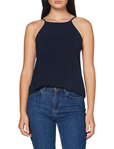 Vila Clothes Damen VIRASHA Singlet Trägershirt/Cami Shirt, Navy Blazer, 40
