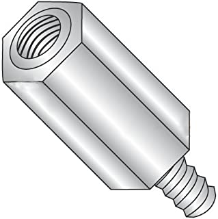 #8-32 Screw Size 0.687 Length, Hex Standoff 0.312 OD Female Pack of 10 Stainless Steel
