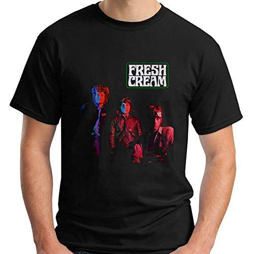 Cream Fresh Cream Album Black T-Shirt Size S-5XL