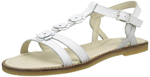 Garvalin Pias Mädchen Sandalen, Weiß - Blanc (D Blanco Sauvage), 38 EU