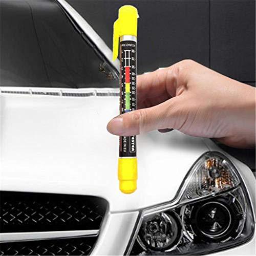 Banane Multimeter Lackdickenmessgerät Schichtdickenmessgerät Für Auto, Autolack Messen Tester Tool Instrumente Genauigkeit Von 20 Mikron.