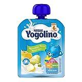 Nestlé Yogolino Bolsita Manzana Pera 90 G 1440 g - Pack de 16 bolsitas 90g