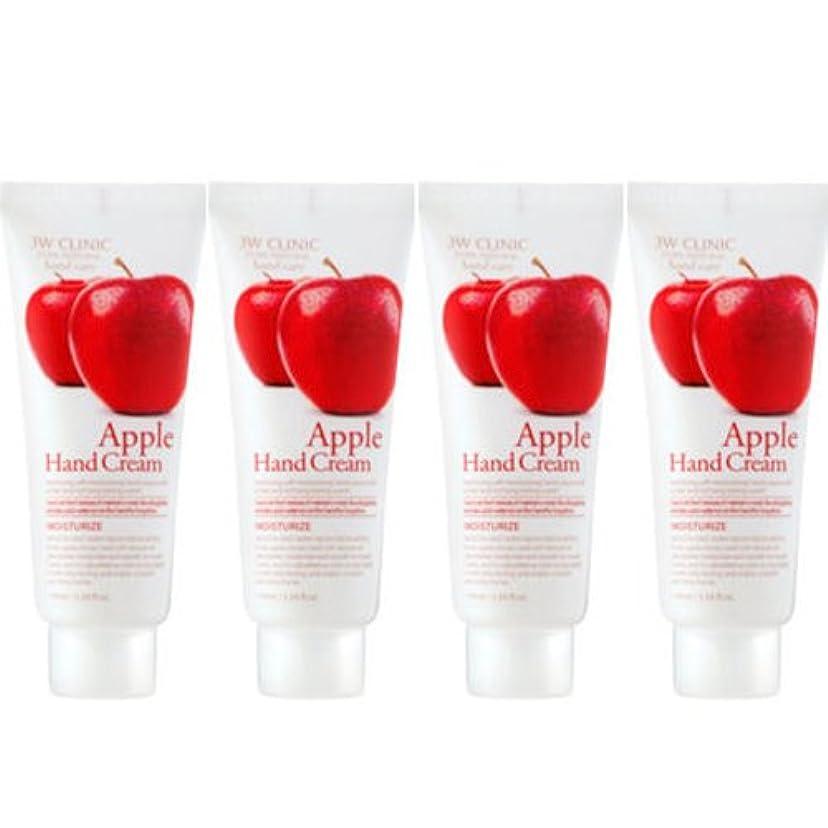 マウス摂氏度フォージ3w Clinic[韓国コスメARRAHAN]Moisturizing Apple Hand Cream モイスチャーリングリンゴハンドクリーム100mlX4個 [並行輸入品]