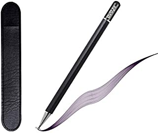 BixByte capacitive Stylus Pen for ipad MATT BLACK with Fine Disc tip for Pinpoint Precision ipad pencil compatible for App...