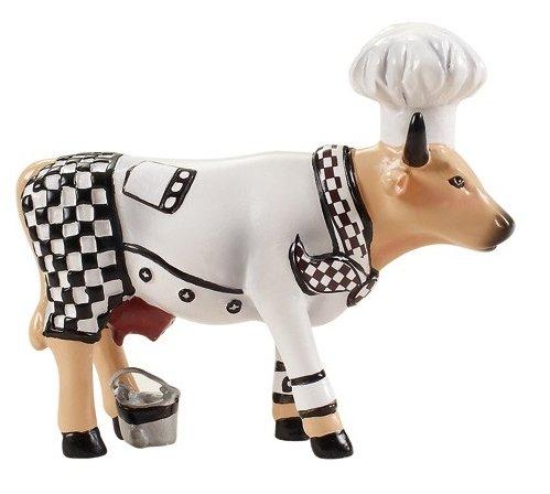 Cow Parade Dekofigur Kuh als Koch